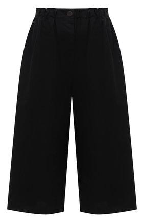 Женский хлопковые кюлоты LOEWE черного цвета, арт. S616Y04X16 | Фото 1 (Материал внешний: Хлопок)