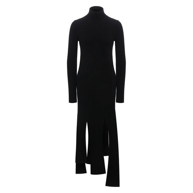 Шерстяное платье Bottega Veneta