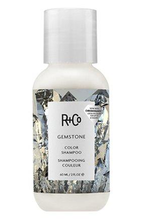Шампунь для ухода за цветом с комплексом chromohance gemstone R+CO бесцветного цвета, арт. 810374023907   Фото 1