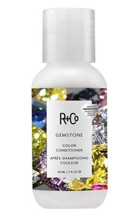 Кондиционер для ухода за цветом с комплексом chromohance gemstone R+CO бесцветного цвета, арт. 810374023914   Фото 1