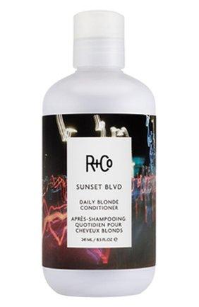 Кондиционер для светлых волос sunset blvd R+CO бесцветного цвета, арт. 810374027790   Фото 1