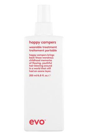 Интенсивно увлажняющий несмываемый уход за волосами happy campers EVO бесцветного цвета, арт. 9349769009550 | Фото 1