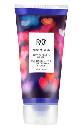 Маска для усиления оттенка светлых волос sunset blvd R+CO бесцветного цвета, арт. 810374026120   Фото 1