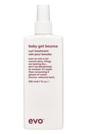 Смываемый уход для вьющихся и кудрявых волос baby got bounce EVO бесцветного цвета, арт. 9349769010242 | Фото 1