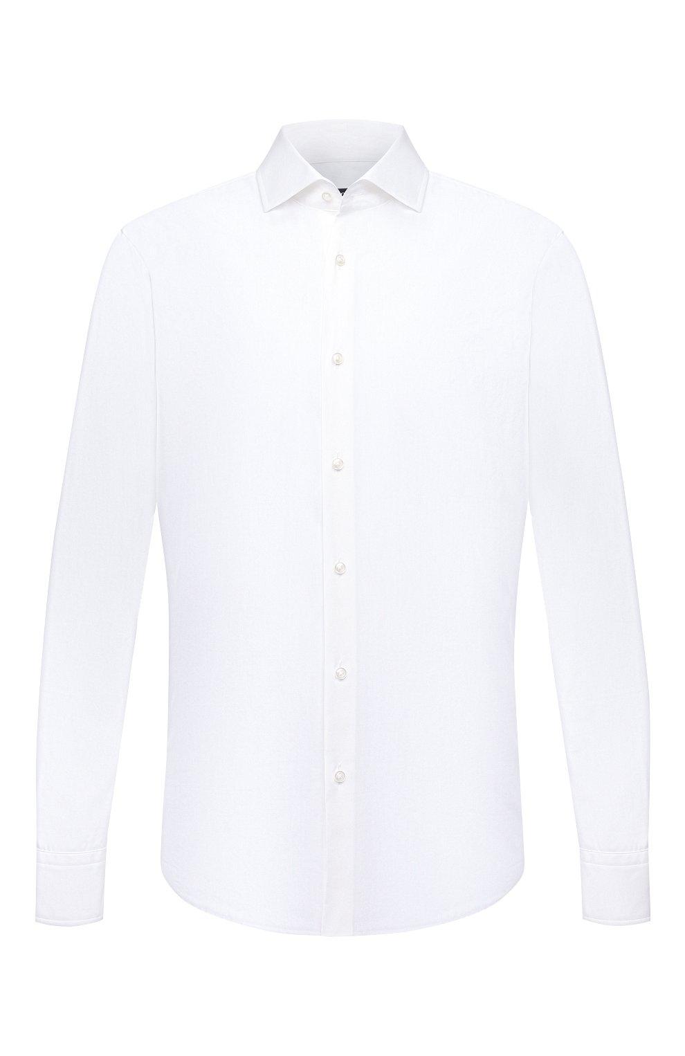 Мужская сорочка BOSS белого цвета, арт. 50454083   Фото 1