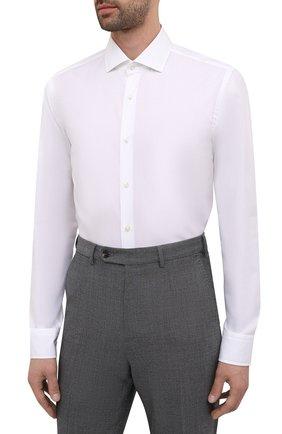 Мужская сорочка BOSS белого цвета, арт. 50454083   Фото 3