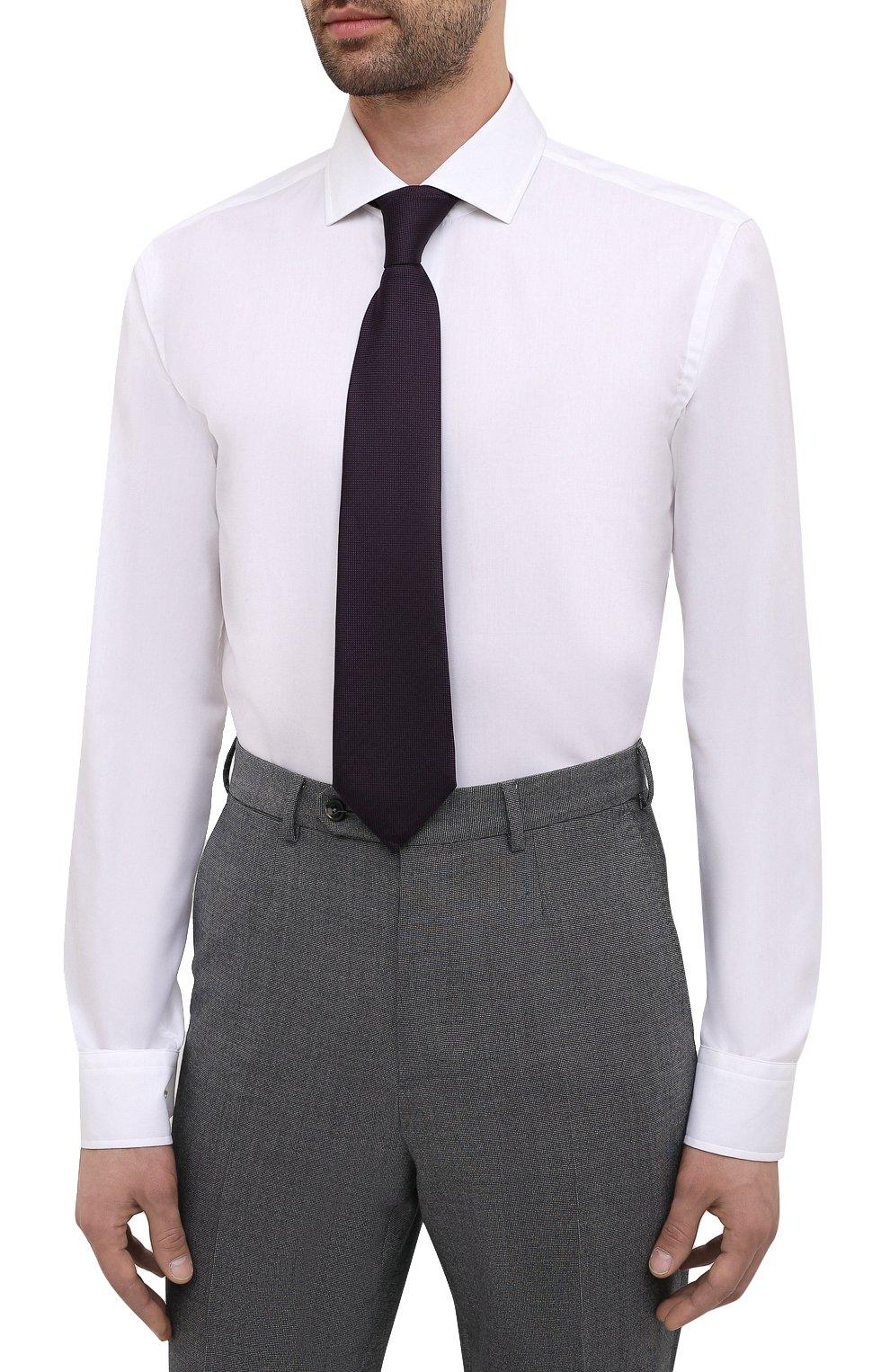 Мужская сорочка BOSS белого цвета, арт. 50454083   Фото 4