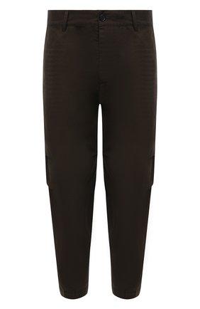 Мужские хлопковые брюки DSQUARED2 хаки цвета, арт. S74KB0591/S41794 | Фото 1 (Длина (брюки, джинсы): Стандартные; Материал внешний: Хлопок; Случай: Повседневный; Стили: Гранж)