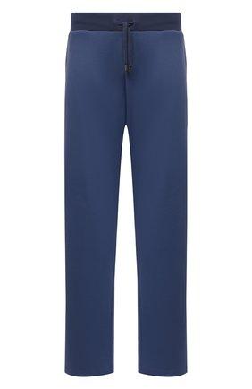 Мужские брюки CANALI темно-синего цвета, арт. T0699B/MJ01282   Фото 1