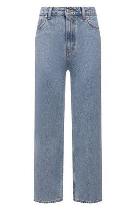 Женские джинсы GANNI голубого цвета, арт. F5718 | Фото 1