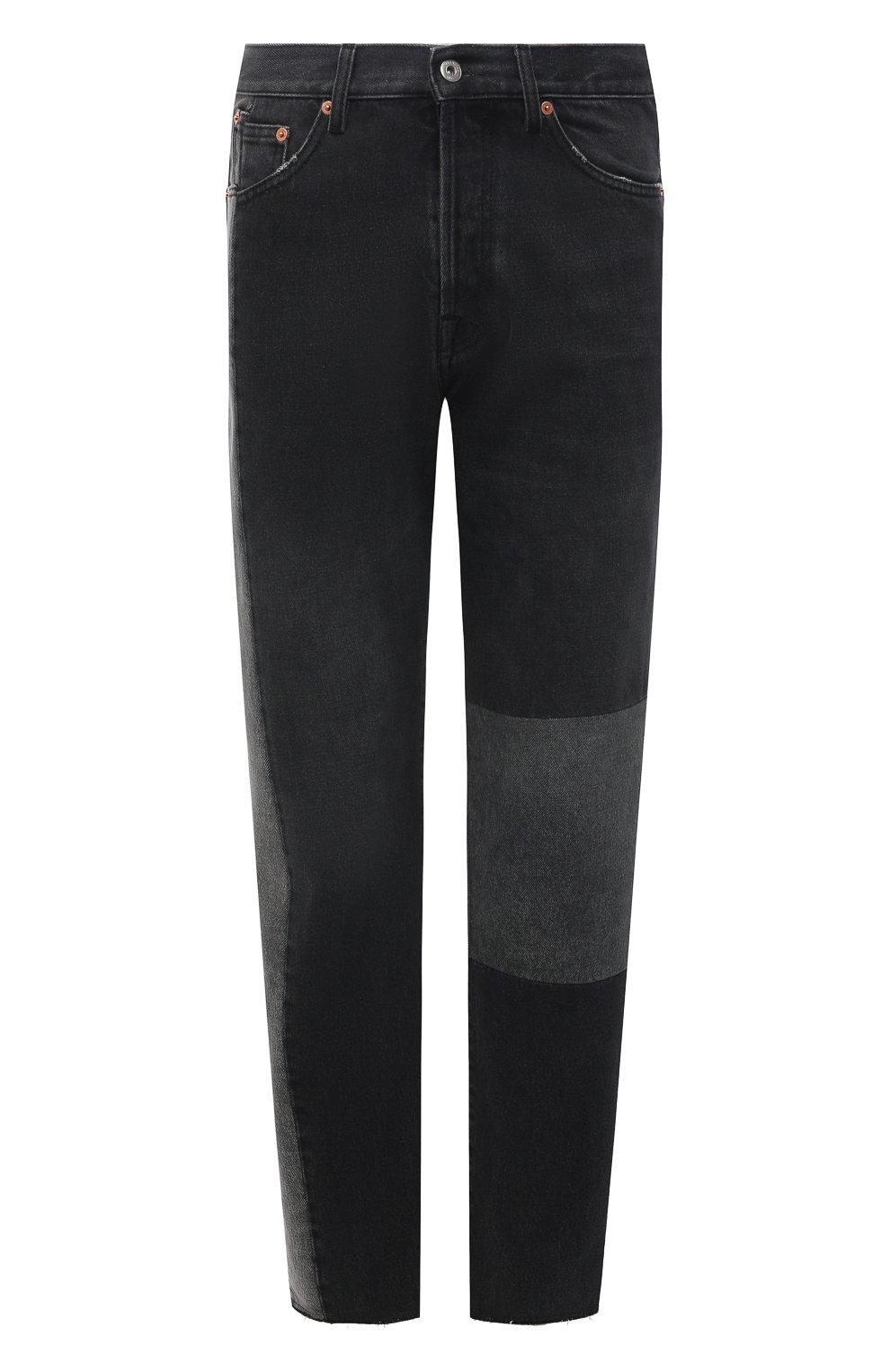 Мужские джинсы VALENTINO серого цвета, арт. WV3DE01U7FU | Фото 1 (Силуэт М (брюки): Прямые; Длина (брюки, джинсы): Стандартные; Материал внешний: Хлопок; Стили: Кэжуэл)