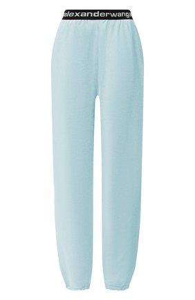 Женские джоггеры ALEXANDERWANG.T голубого цвета, арт. 4CC1204024 | Фото 1