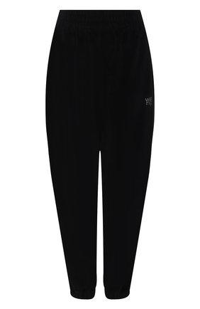 Женские хлопковые джоггеры ALEXANDERWANG.T черного цвета, арт. 4CC3214111 | Фото 1
