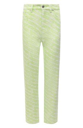 Женские джинсы DENIM X ALEXANDER WANG светло-зеленого цвета, арт. 4DC3214990 | Фото 1