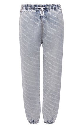 Женские джинсы DENIM X ALEXANDER WANG голубого цвета, арт. 4DC3214996   Фото 1