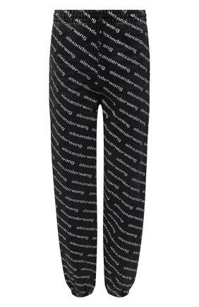Женские джинсы DENIM X ALEXANDER WANG темно-серого цвета, арт. 4DC3214997   Фото 1