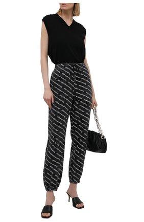 Женские джинсы DENIM X ALEXANDER WANG темно-серого цвета, арт. 4DC3214997   Фото 2