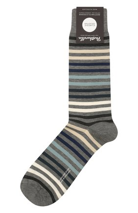 Мужские хлопковые носки kilburn PANTHERELLA серого цвета, арт. 535222 | Фото 1