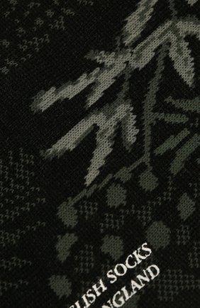 Мужские носки PANTHERELLA черного цвета, арт. 535626 | Фото 2