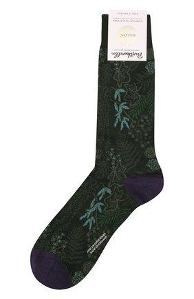 Мужские носки PANTHERELLA зеленого цвета, арт. 535626 | Фото 1