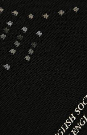 Мужские носки PANTHERELLA черного цвета, арт. 535627 | Фото 2