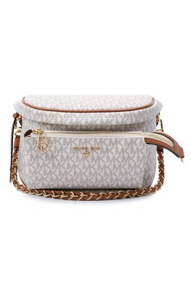Женская сумка slater medium MICHAEL MICHAEL KORS светло-бежевого цвета, арт. 30T0G04M6B | Фото 1