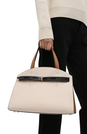 Женская сумка furla margherita FURLA светло-бежевого цвета, арт. WB00178/HSC000   Фото 2