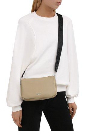 Женская сумка furla moon FURLA серого цвета, арт. WB00335/AX0748 | Фото 2