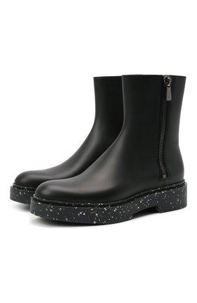 Женские кожаные ботинки SANTONI черного цвета, арт. WTHW59519RYCNU0RG70 | Фото 1
