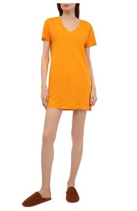 Женская сорочка HANRO желтого цвета, арт. 077111 | Фото 2