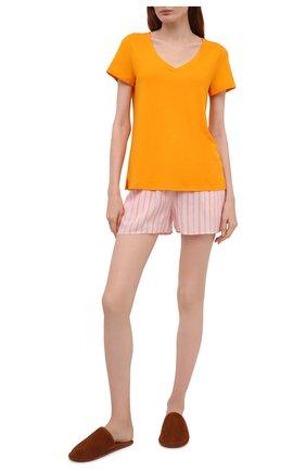 Женские шорты из вискозы HANRO разноцветного цвета, арт. 077615 | Фото 2