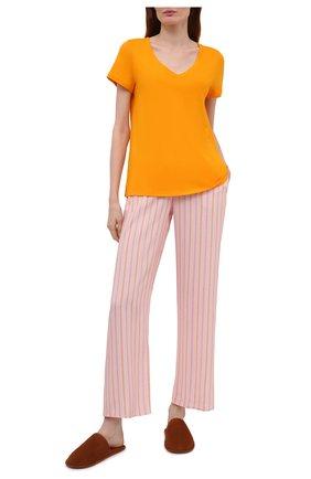Женская футболка HANRO желтого цвета, арт. 077876 | Фото 2