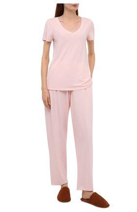 Женские брюки HANRO розового цвета, арт. 077880 | Фото 2