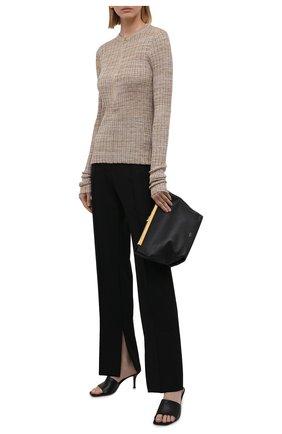 Женский шелковый пуловер PETAR PETROV бежевого цвета, арт. NELIA SR21K7 | Фото 2