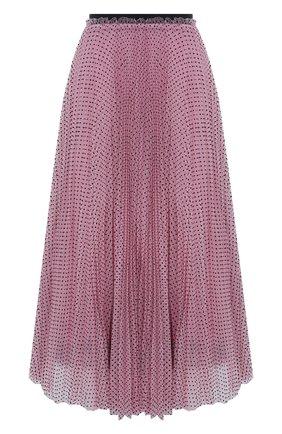 Женская юбка REDVALENTINO светло-розового цвета, арт. WR3RA01S/63D | Фото 1