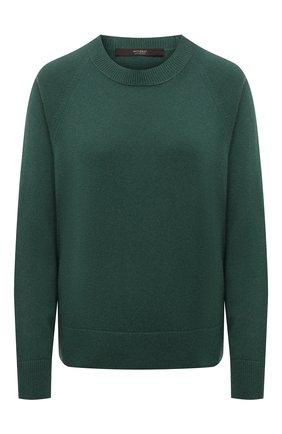 Женский кашемировый пуловер WINDSOR зеленого цвета, арт. 52 DP600 10000805 | Фото 1