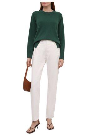 Женский кашемировый пуловер WINDSOR зеленого цвета, арт. 52 DP600 10000805 | Фото 2