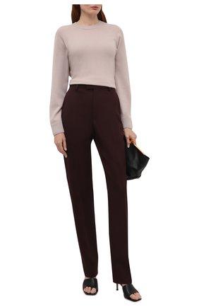 Женский кашемировый пуловер WINDSOR бежевого цвета, арт. 52 DP600 10000805 | Фото 2
