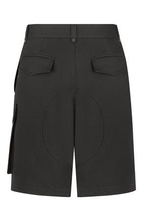 Мужские хлопковые шорты DIOR черного цвета, арт. 193C151A4451C900 | Фото 2