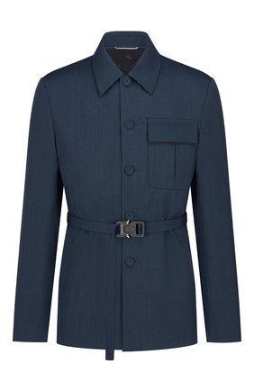 Мужской пиджак DIOR синего цвета, арт. 193C242A5173C535 | Фото 1