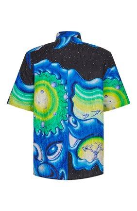 Мужская рубашка из хлопка и шелка dior x kenny scarf DIOR разноцветного цвета, арт. 193C545A5194C985 | Фото 2