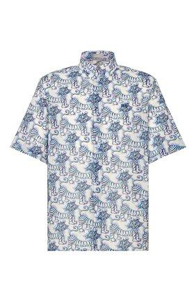 Мужская хлопковая рубашка dior x kenny scarf DIOR разноцветного цвета, арт. 193C545B5252C075 | Фото 1