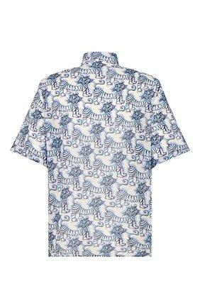 Мужская хлопковая рубашка dior x kenny scarf DIOR разноцветного цвета, арт. 193C545B5252C075 | Фото 2