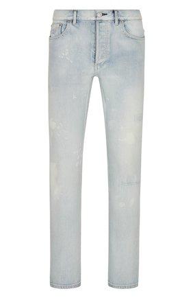 Мужские джинсы DIOR голубого цвета, арт. 193DS11CY999C585 | Фото 1
