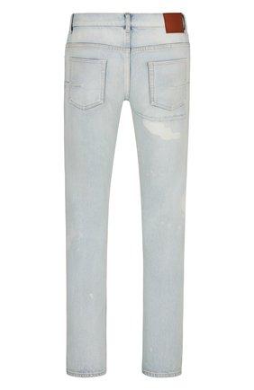 Мужские джинсы DIOR голубого цвета, арт. 193DS11CY999C585 | Фото 2