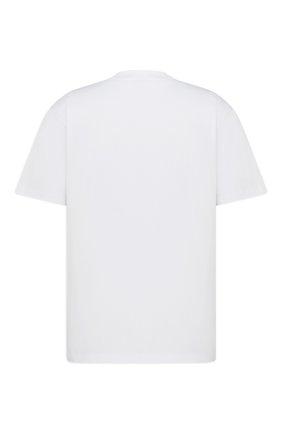 Мужская хлопковая футболка dior x kenny scharf DIOR белого цвета, арт. 193J635A0677C089 | Фото 2