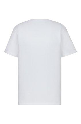 Мужская хлопковая футболка dior x kenny scharf DIOR белого цвета, арт. 193J685D0554C084 | Фото 2