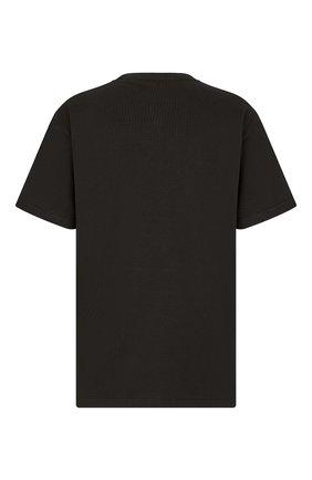 Мужская хлопковая футболка dior x kenny scharf DIOR черного цвета, арт. 193J685D0554C986 | Фото 2