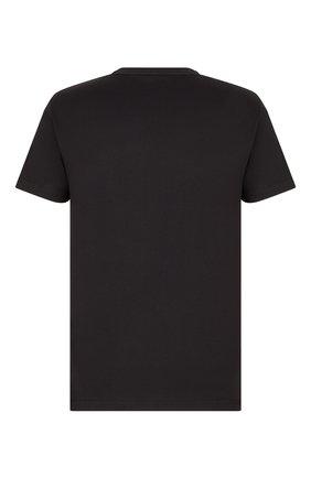 Мужская хлопковая футболка dior x kenny scharf DIOR черного цвета, арт. 193J697A0677C985 | Фото 2