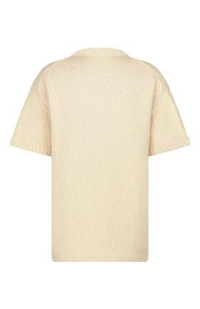 Мужской свитер из шерсти и хлопка dior x kenny scharf DIOR кремвого цвета, арт. 193M636AT329C089 | Фото 2